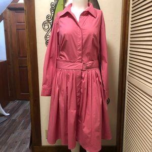 New eShatki Pink Shirtdress 26W